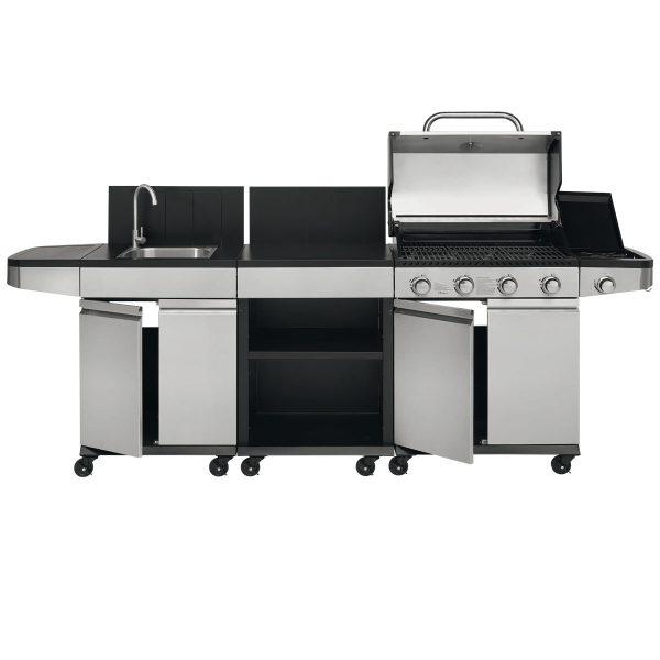 JUSTUS Gasgrill-Küche Juno geöffnet