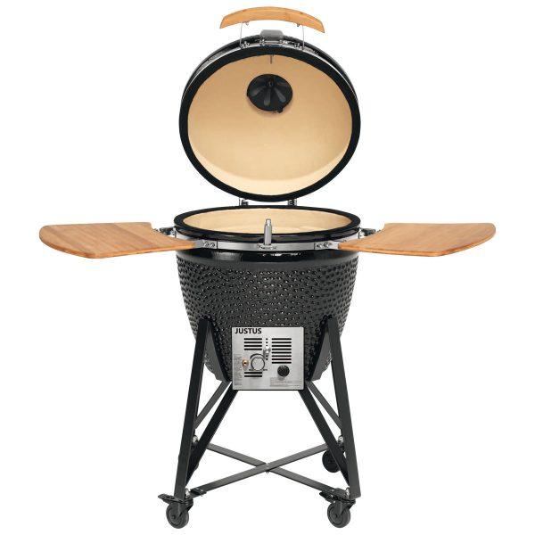 JUSTUS Keramik-Griller Black J'Egg XL Duo